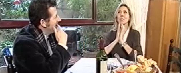 Comer cocido en Madrid: Marta Robles y Carlos Gª Hitchfield