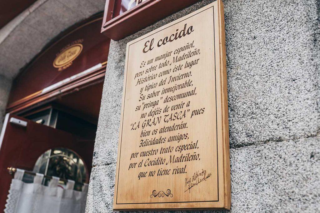 La Gran Tasca Madrid