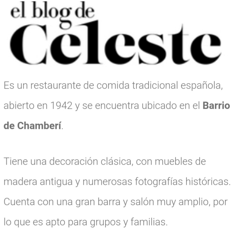 El Blog de Celeste